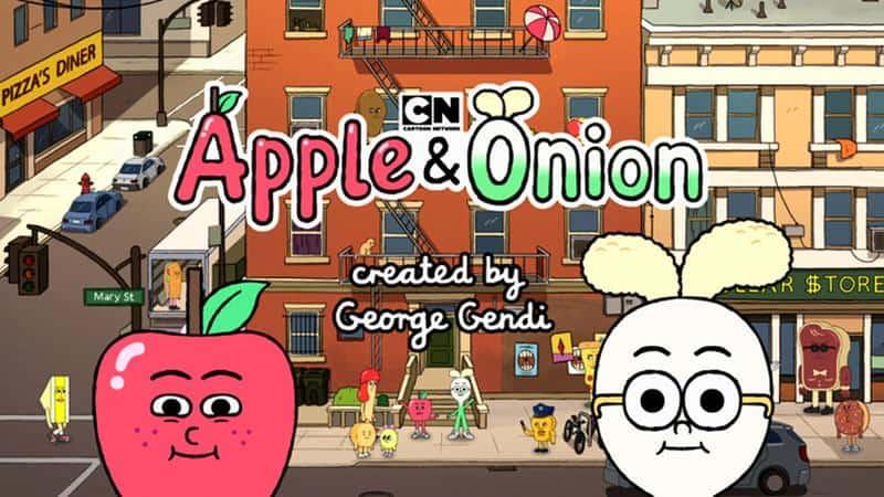cartoon network kreskówka apple onion