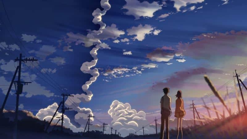 5 centymetrów na sekundę anime