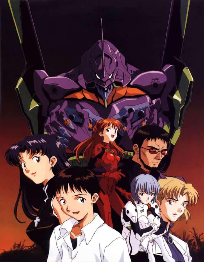 NGE anime - mecha
