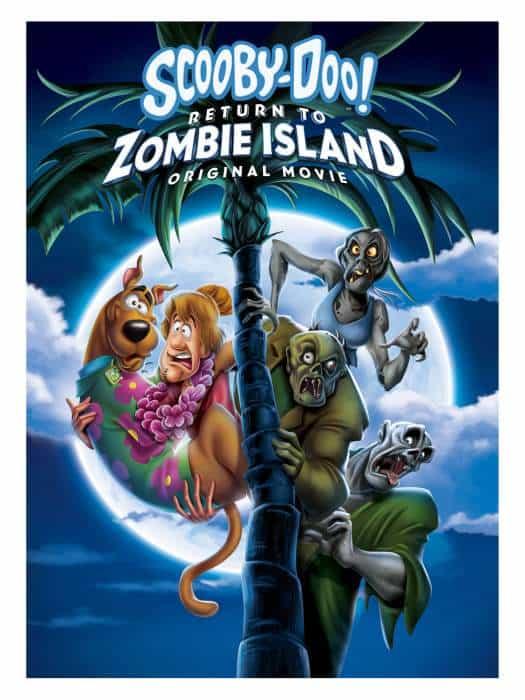 Plakat filmu animowanego Scooby