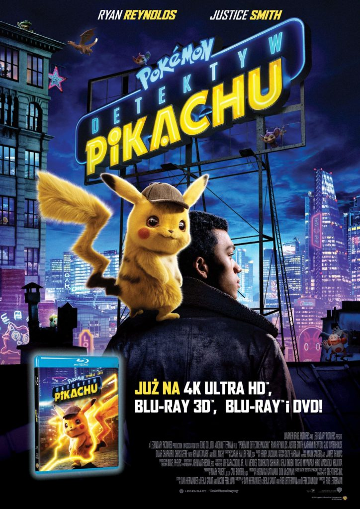 plakata pokemon detektyw pikachu