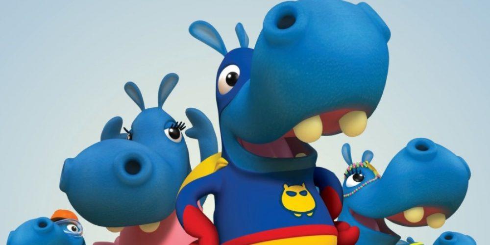 Drugi sezon przygód niebieskich hipopotamów wBoomerangu