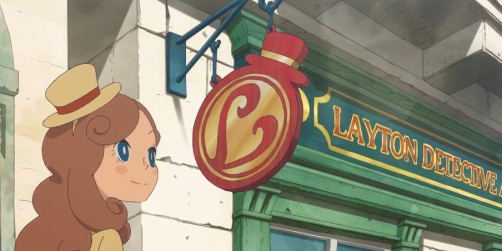 """Gry zserii """"Professor Layton"""" zwłasną serią anime"""