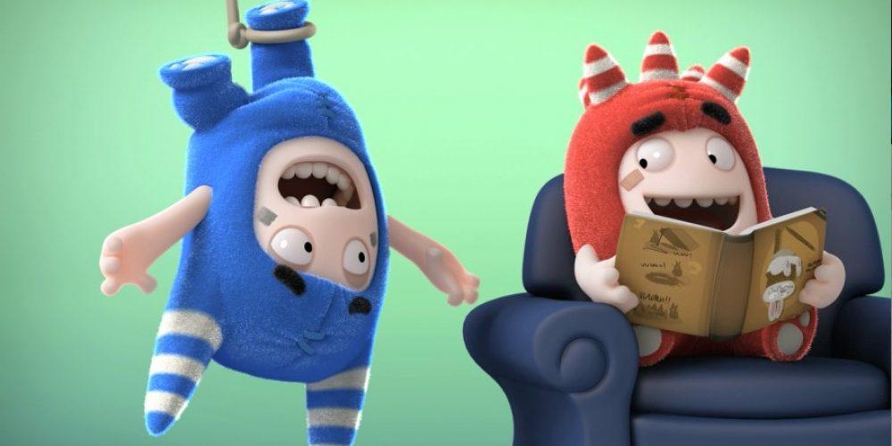 "Humor idobra zabawa wdrugim sezonie ""Oddbods"""