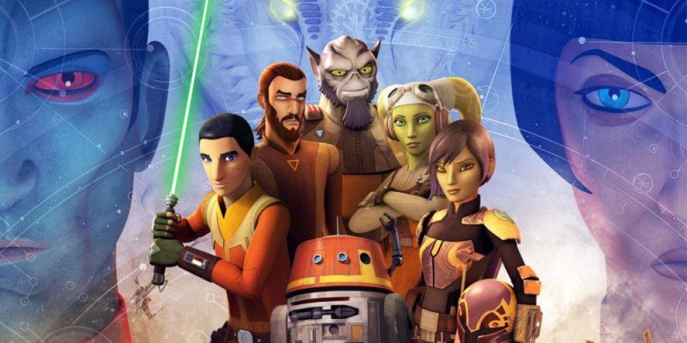 """Świeży klip znowych odcinków kreskówki """"Star Wars: Rebelianci"""""""