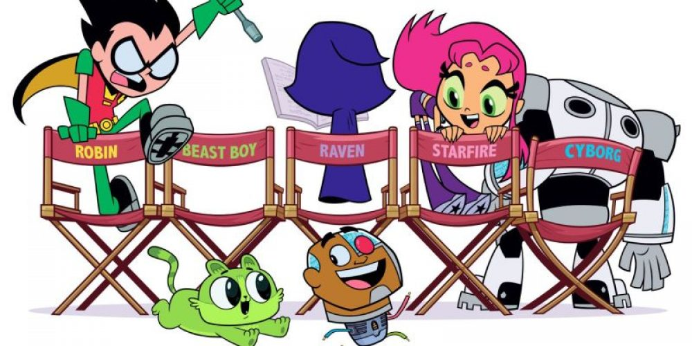 "Pełny zwiastun ""Teen Titans GO! tothe Movies"""