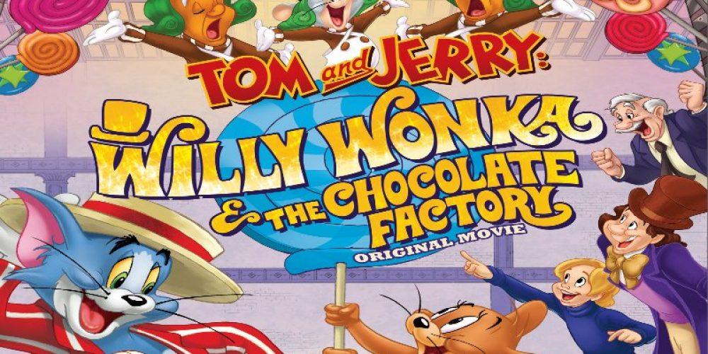 Willy Wonka + Tom iJerry wjednym filmie? Klip znowej kreskówki!
