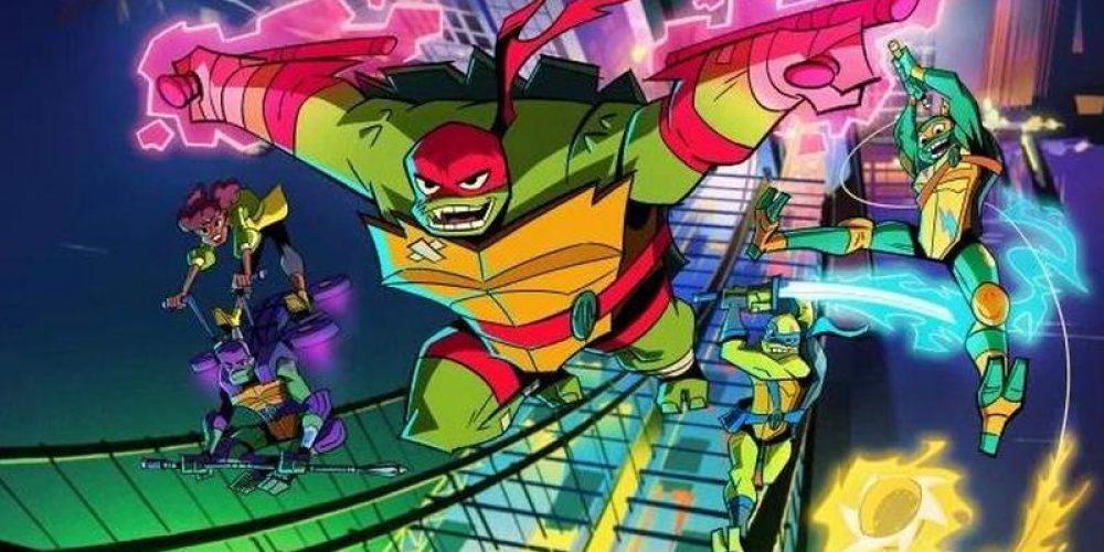 "Data premiery ipierwszy odcinek ""Rise of the Teenage Mutant Ninja Turtles:"""