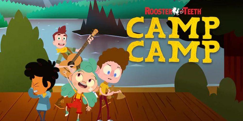 """""""Camp Camp"""" zplakatem zapowiadającym nowe odcinki 3 sezonu kreskówki"""