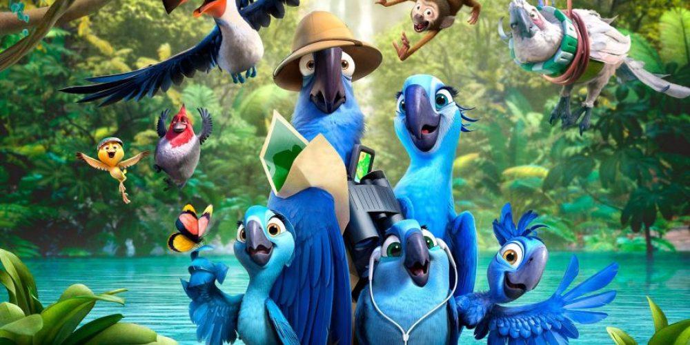 """Papuga, którabyła gwiazdą animacji """"RIO"""" trafiła listę wymarłych gatunków…"""