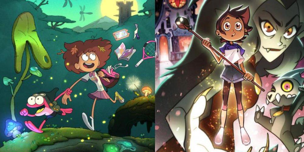 Disney rusza znowym kreskówkami – Amphibia orazThe Owl House