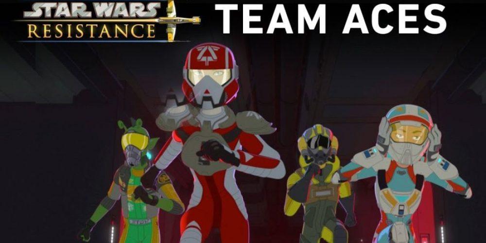 """Nowe materiały zkreskówki """"Star Wars Resistance"""""""