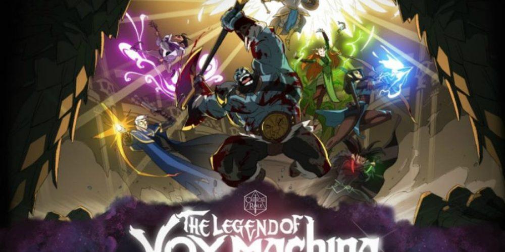 Ogromny sukces kickstarterowej kampanii animowanego The Legend of Vox Machina