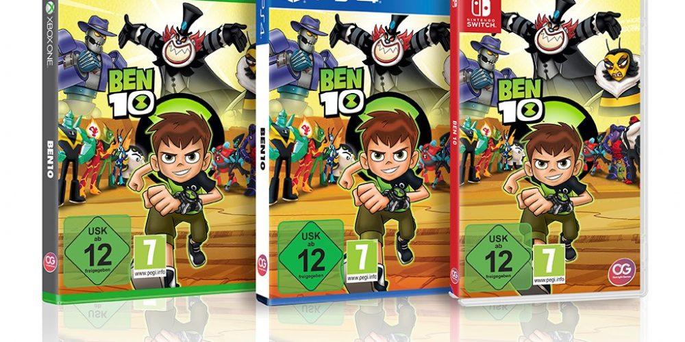 """Niezapomniana przygoda wnowej grze """"Ben 10"""""""