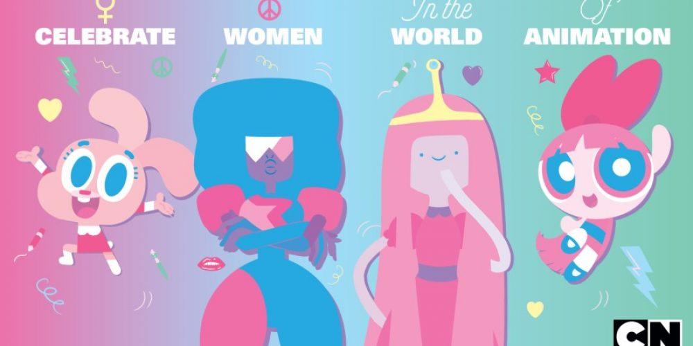 Cartoon Network ikobiety świata animacji nafestiwalu wAnnecy