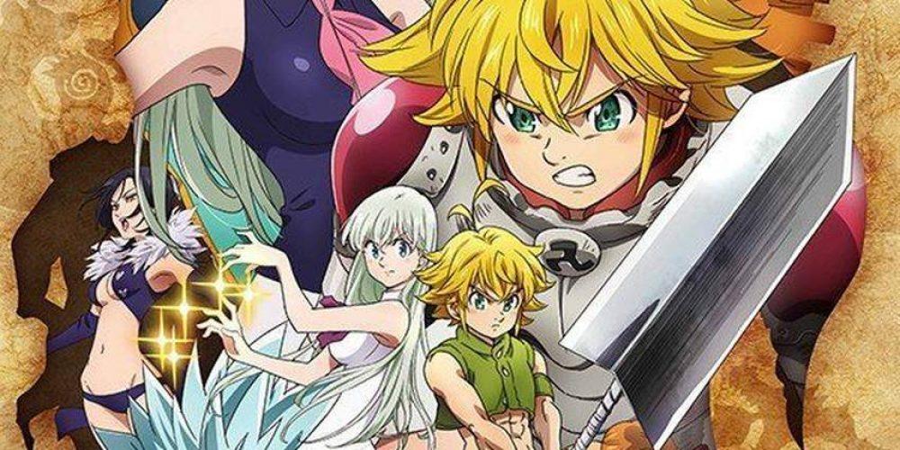 """Nowe anime zserii """"The Seven Deadly Sins"""" izmiana studia produkcyjnego"""