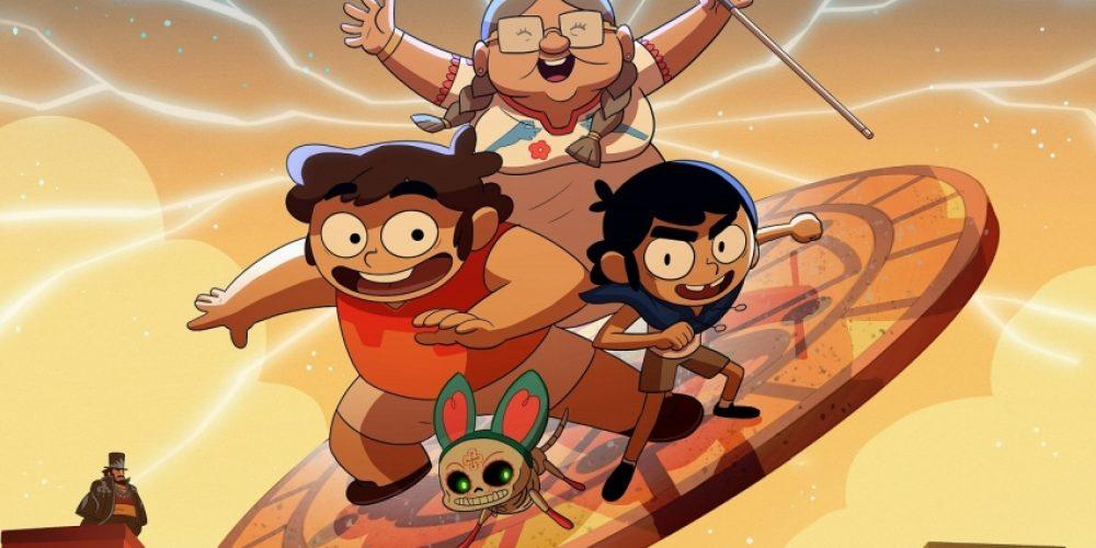 "Mity, legendy iniespotykane zjawiska wnowym serialu Cartoon Network ""Victor iValentino"""