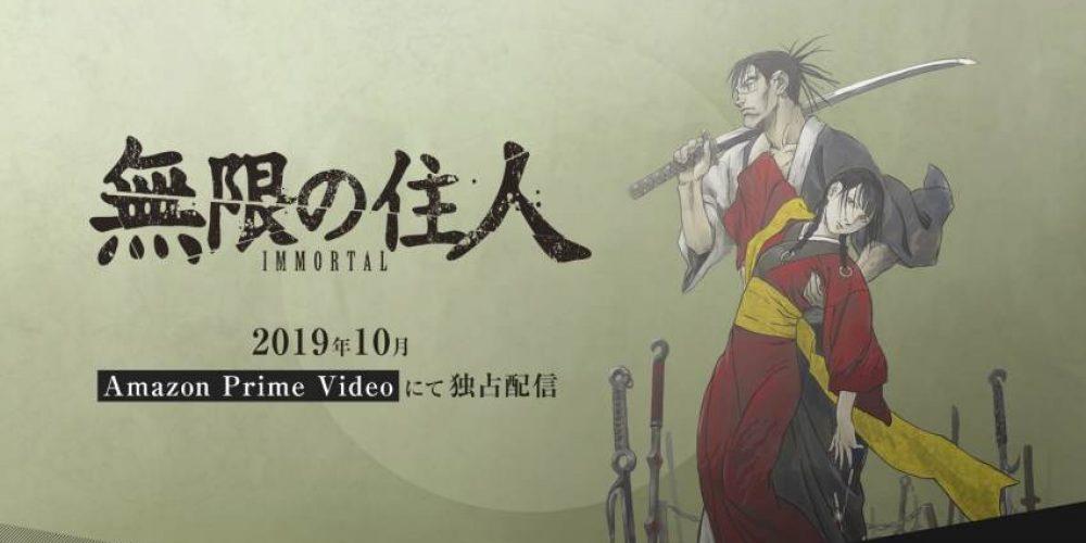 """Premiera dwóch pierwszych epizodów serii anime """"Blade of the Immortal"""""""