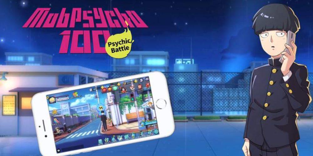 """Gra mobilna wświecie anime """"Mob Psycho 100"""""""