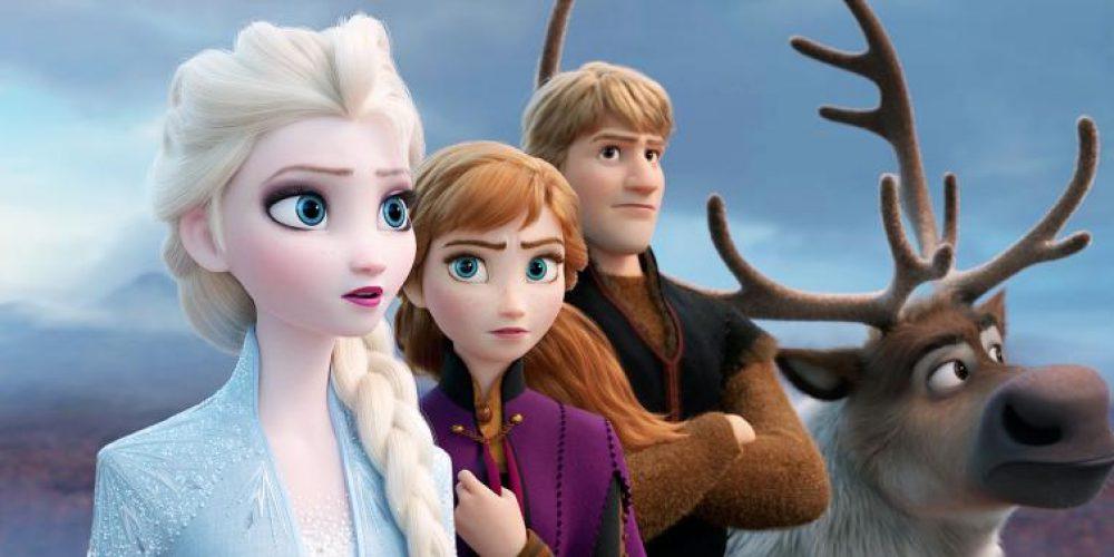 """Film animowany """"Frozen 2"""" bije rekordy wkinach"""