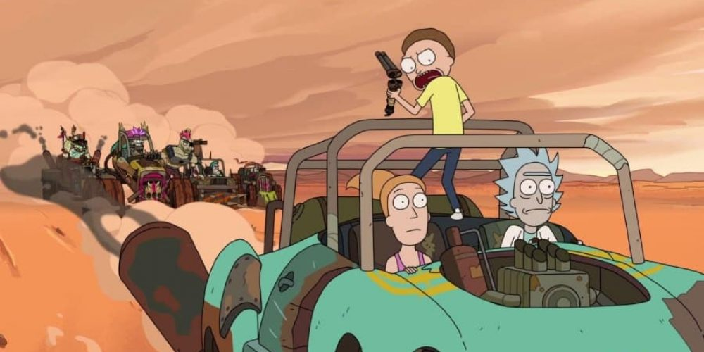 Rick and Morty – Rickmancing the Stone