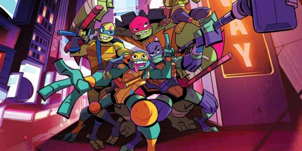 """Pierwszy zwiastun kreskówki """"Rise of the Teenage Mutant Ninja Turtles"""""""